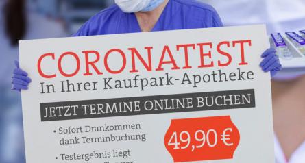 Kaufpark-Apotheke-Coronatest-buchen